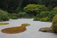 piękne otoczaki w ogrodzie